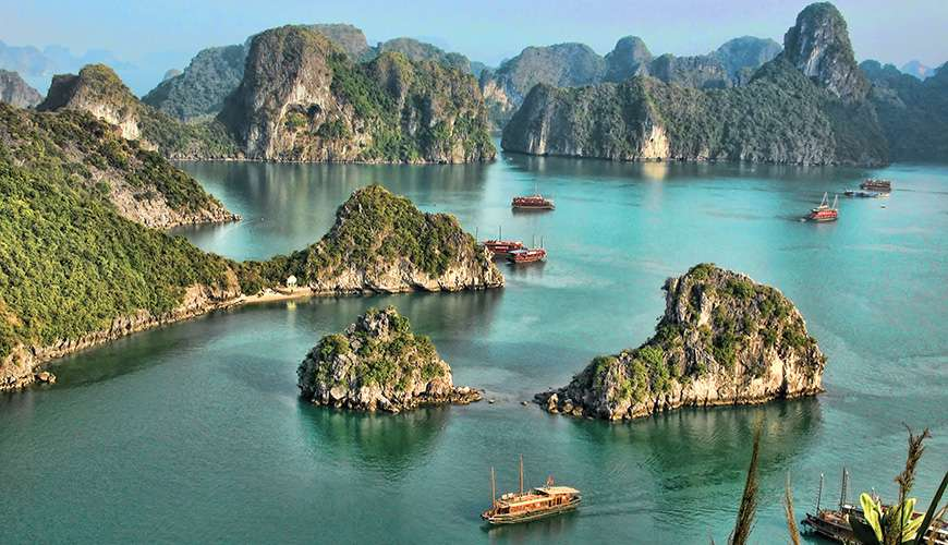 Halong bay Northern Vietnam