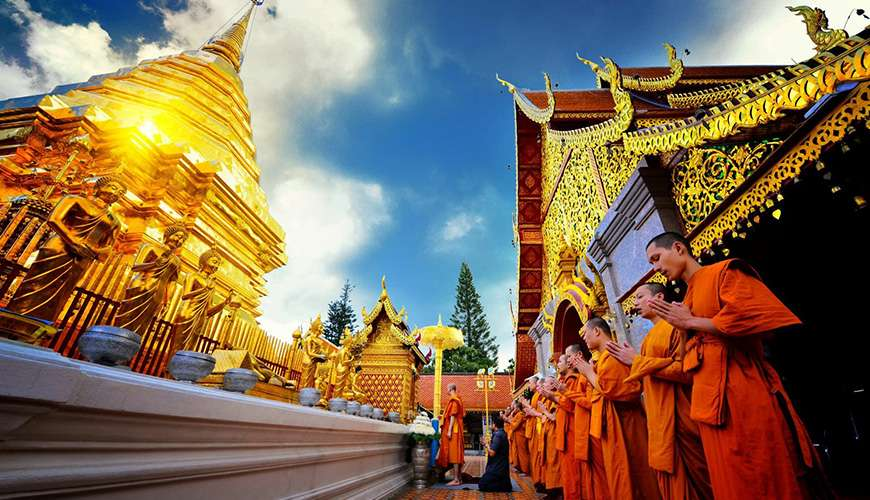 Wat Doi Suthep Northern Thailand