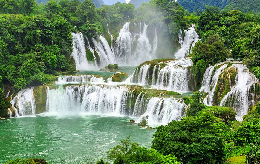 Ban Gioc, Vietnam's Most Beautiful Waterfall