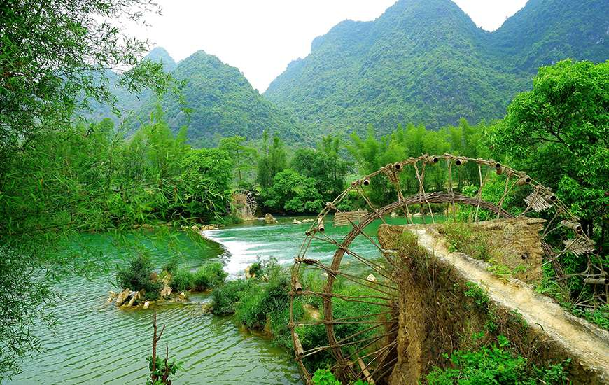 Ban Gioc  Vietnam Most Beautiful Waterfall