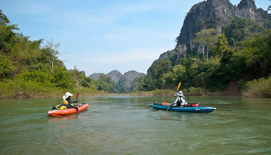 Kayaking and Rafting in South East Asia