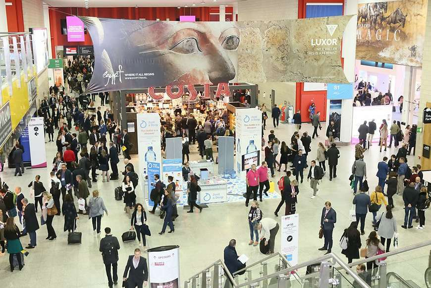 WTM Exhibition Floor